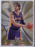 2012-13 Panini Totally Certified Gold #74 Pau Gasol NM-MT H5 /25