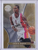2012-13 Panini Totally Certified Gold #30 Chris Bosh NM-MT H5 /25