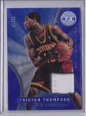 2012-13 Panini Totally Certified Blue Memorabilia #52 Tristan Thompson NM-MT I MEM /99