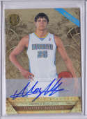 Timofey Mozgov 2011-12 Panini Gold Standard 242 Rookie Card RC
