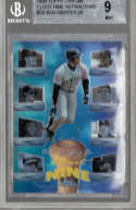 Ken Griffey Jr. 1998 Topps Chrome Clout Nine Refractor C8 Graded BGS 9 MINT