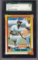Frank Thomas 1990 Topps Draft Pick 414 Graded SGC MINT