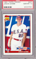 Jason Giambi 1991 Topps Traded RC Rookie Card 45T Graded PSA 10 GEM MINT