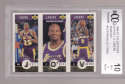 Shaquille O'Neal Eddie Jones Van Exel 1996-97 UD CC Team Set Gold BCCG BGS 10