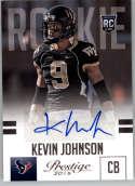 2015 Panini Prestige Rookies Signatures #257 Kevin Johnson MINT r Auto