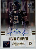 2015 Panini Prestige Rookies Extra Points Signatures Gold #257 Kevin Johnson MINT r Auto /50