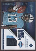 2012 Panini Absolute War Room Prime Materials #19 Kendall Wright NM-MT+ G MEM /49