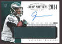 Jordan Matthews 2014 National Treasures Timeline RPA Jersey Autograph /25 SP TNM-JR NM-MT+ Philadelphia Eagles h8
