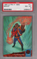 Bishop 1994 Fleer Ultra X-Men #11 Graded PSA 8 NM-MT MARVEL X-MEN Collectible Trading Card POP 1