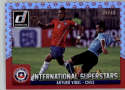 2015 Donruss International Superstars Red Soccer Ball #4 Arturo Vidal MINT /49 Chile