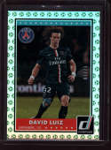 2015 Donruss Green Soccer Ball #55 David Luiz MINT /25 Paris SaintGermain