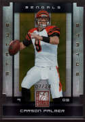 Carson Palmer 2008 Donruss Elite Status Die Cut /24 SP 20 Mint - Near Mint Q3