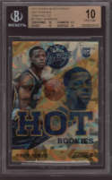 2013 Trey Burke #2 Panini Black Friday Hot Rookies Cracked Ice /35 SP BGS 10 Pristine