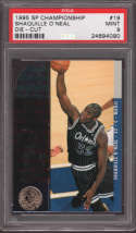 1994-95 Shaq Shaquille O'Neal #19 UD SP Championship Die Cuts PSA 9 Mint POP2 Graded Orlando Magic