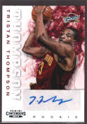 2012-13 Playoff Contenders Rookie Autographs #272 Tristan Thompson NM-MT+ RC Rookie Auto