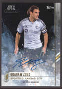 2015 Topps APEX MLS Autographs #91 Graham Zusi NM-MT Auto