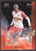 2015 Topps APEX MLS Orange Autographs #6 Lloyd Sam NM-MT Auto /25