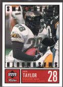 Fred Taylor 1999 Upper Deck Retro Smashmouth Black /100 S1 Jacksonville Jaguars