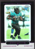 Fred Taylor 2005 Topps Chrome Black Refractor SP /100 122 Jacksonville Jaguars