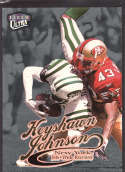 Keyshawn Johnson 1999 Fleer Ultra Platinum Medallion SP /99 180 New York Jets