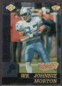 Johnnie Morton 1999 Edge Advantage HoloGold SP /50 56 Detroit Lions