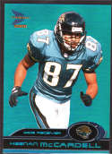 Keenan McCardell 2000 Pacific Prism Prospects Blue /100 41 Jacksonville Jaguars