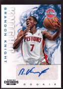 2012-13 Playoff Contenders Rookie Autographs #262 Brandon Knight NM-MT+ RC Rookie Auto