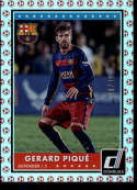 2015 Donruss Red Soccer Ball #73 Gerard Pique NM-MT+ /49