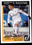 2015 Donruss Midfield Maestros Silver Press Proofs #12 James Rodriguez NM-MT+ /199