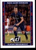 2015 Donruss Fantastic Finishers Silver Press Proof #15 Zlatan Ibrahimovic NM-MT+ /199