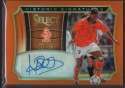 2015 Panini Select Historic Signatures Orange #17 Patrick Kluivert  Auto 86/149
