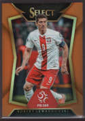 2015 Panini Select Variation Orange #80 Robert Lewandowski Mint /149