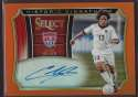 2015 Panini Select Historic Signatures Orange #21 Cobi Jones Mint Auto /149