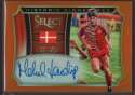 2015 Panini Select Historic Signatures Orange #27 Michael Laudrup Mint Auto /149