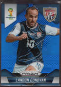 2014 Panini World Cup Prizm Blue Prizms #70 Landon Donovan Mint /199