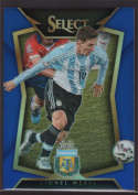 2015 Panini Select Blue #65 Lionel Messi Mint /299