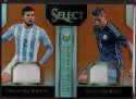 2015 Panini Select Double Team Memorabilia Orange #1 Ezequiel Garay/Marcos Rojo Mint Jersey /149