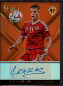 2015 Panini Select Select Signatures Orange #21 Kevin Mirallas Mint Auto /125