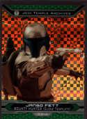 2015 Topps Star Wars Chrome Perspectives: Jedi vs Sith X-fractor #33-J Jango Fett Mint /99
