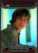 2015 Topps Star Wars Chrome Perspectives: Jedi vs Sith Prism Refractor #1-S Luke Skywalker Mint /199
