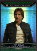 2015 Topps Star Wars Chrome Perspectives: Jedi vs Sith Prism Refractor #19-J Han Solo Mint /199