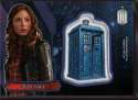 2015 Topps Doctor Who Tardis Patches #P-14 Amy Pond Mint Jersey