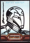 Ironman 1/1 Artist Sketch Card 2010 Upper Deck Ironman 2