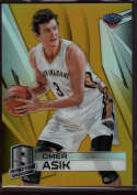 2014-15 Panini Spectra Gold Prizms #35 Omer Asik Mint 1/10
