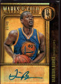 2013-14 Panini Gold Standard Marks of Gold #45 Harrison Barnes Mint /49