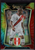 2015 Panini Select Tie Dye #9 Jefferson Farfan Mint /30