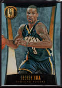 2013-14 Panini Gold Standard Platinum #32 George Hill Mint /10