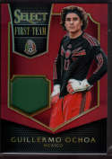 2015 Panini Select First Team Swatches Red #24 Guillermo Ochoa Mint Jersey /49