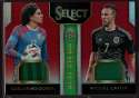 2015 Panini Select Double Team Memorabilia Red #15 Guillermo Ochoa/Miguel Layun Mint Jersey /49