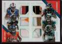 2014 Panini Absolute Tools of the Trade 6 Player Prime #4 Allen Hurns/Allen Robinson/Cody Latimer/Dri Archer/Marqise Lee